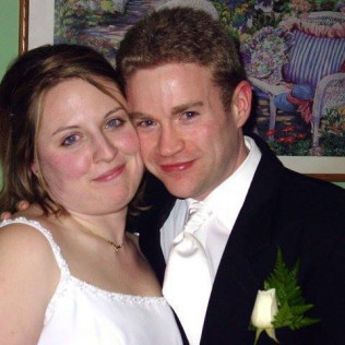 Our Wedding Day 12/06/03